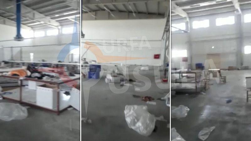 Urfa'daki fabrikayı boşaltıp kaçtılar iddiası!