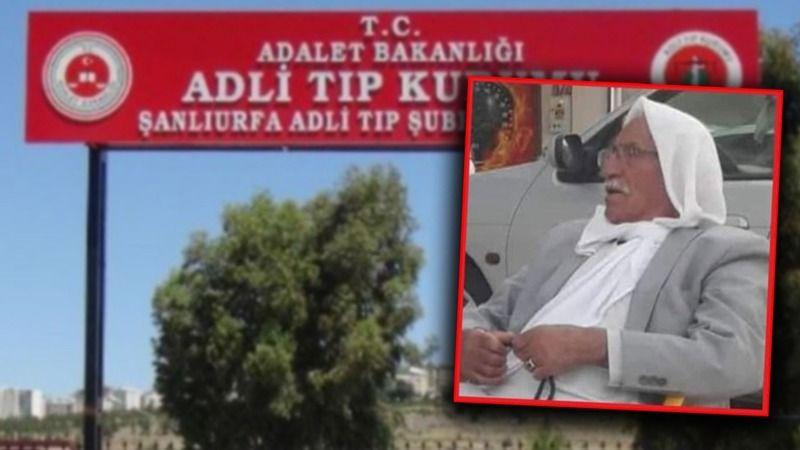 Urfa'da kaza: Yaşlı adam feci şekilde can verdi!