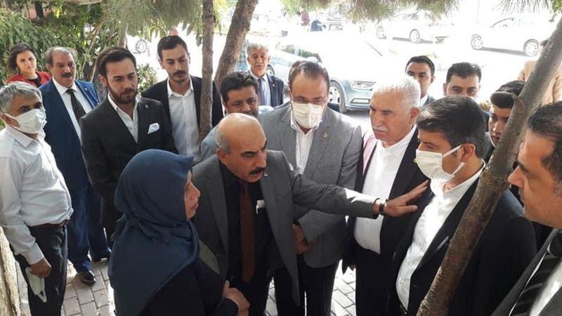 CHP Heyeti, Şenyaşar Ailesini ziyaret etti!