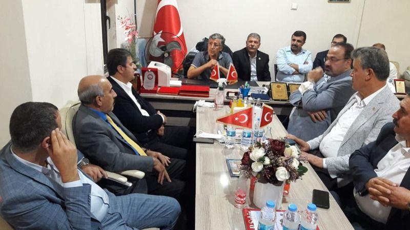 CHP Heyeti SİV-İL-DER'i de ziyaret etti! Kılıçdaroğlu'nun programına davet ettiler!