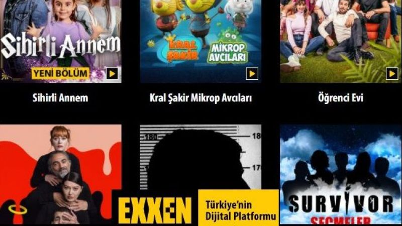 Exxen'de Hangi Dizi ve Programlar Var? İşte Exxen Dizileri ve Exxen Programları!