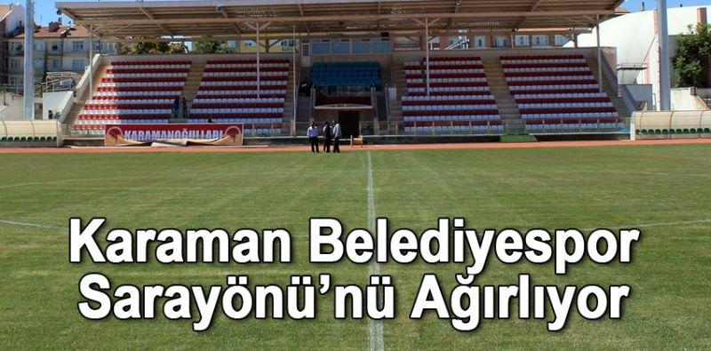 Karaman Belediyespor Sarayönü'nü Ağırlıyor