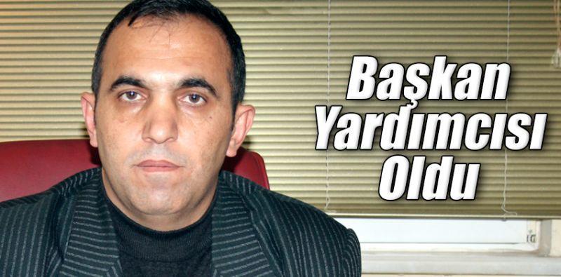 Belediye Başkan Yardımcılığına Yeni Atama