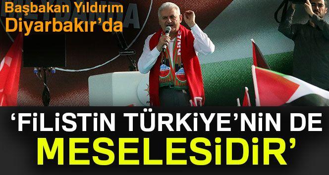 Başbakan Binali Yıldırım Diyarbakır'da !