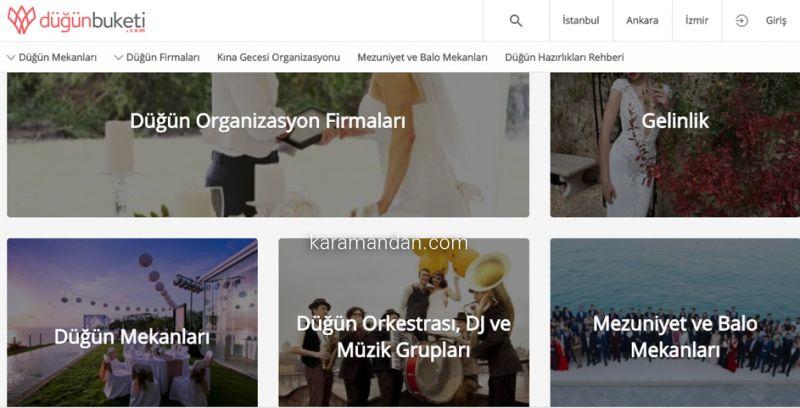 Hızlı, Kolay ve Ücretsiz! Düğünbuketi.com