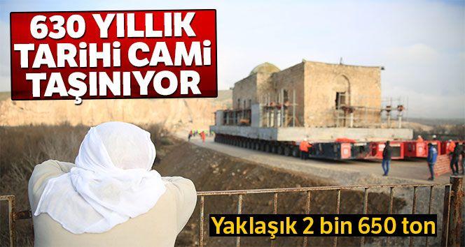 Hasankeyf'te Eyyubi Camisi taşınmaya başlandı