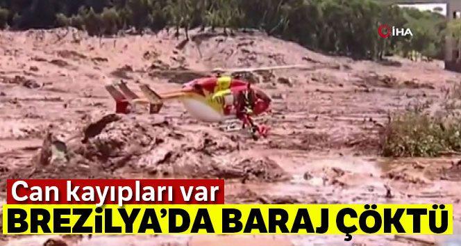 Brezilya'da baraj çöktü: Can kayıpları var !