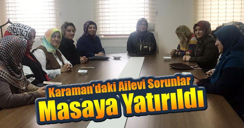 Karaman STK'ların kadın komisyonlarındaki çalışmalar