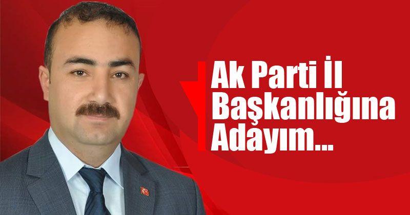 Soyfidan AK Parti İl Başkanlığına Aday