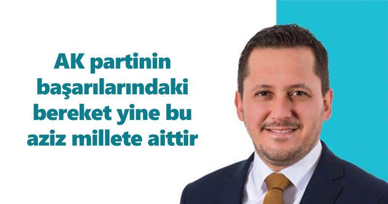 Selman Oğuzhan Eser AK Parti kuruluş yıl dönümü mesajı
