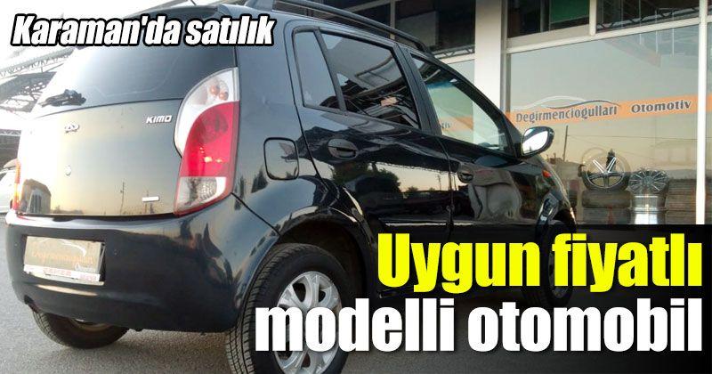 Karaman'da satılık uygun fiyatlı modelli otomobil