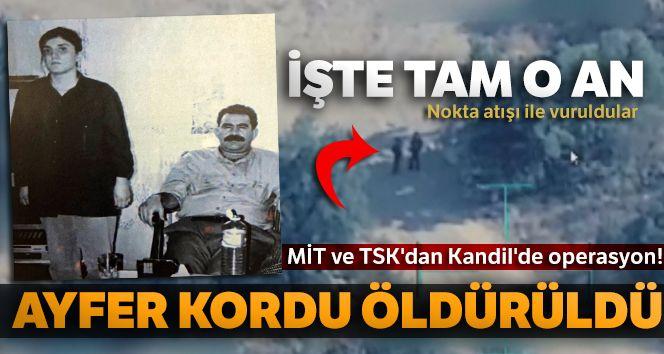 MİT ve TSK'dan Kandil'de operasyon!