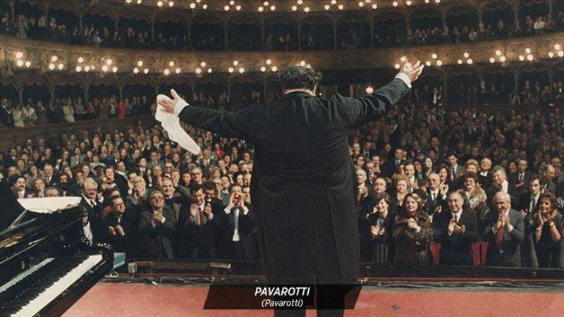 """""""Pavarotti"""", sinemaseverlerle buluştu"""
