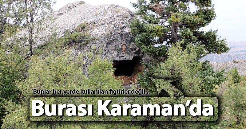 Medusa figürlü kaya mezarları ziyaretçilerini bekliyor