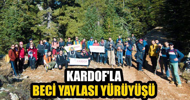 Kardof'la Beci Yaylası Yürüyüşü