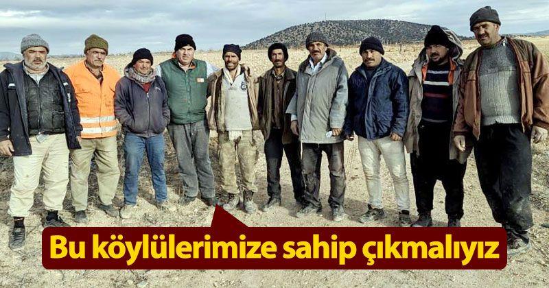 Mehmet Bayram: Köylümüze sahip çıkmalıyız