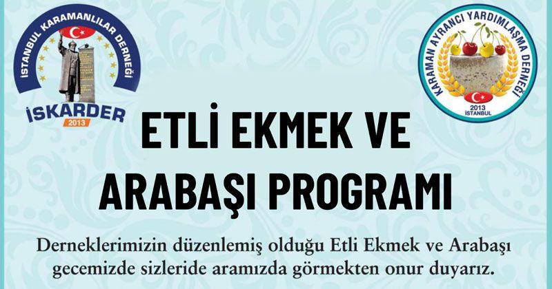 İstanbul'da Karamanlılar buluşuyor