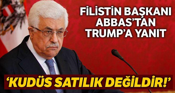 Filistin Devlet Başkanı Abbas'tan Trump'a tepki