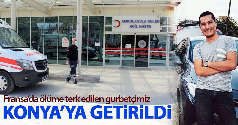 Zekeriya Kılınç Konya'ya getirildi
