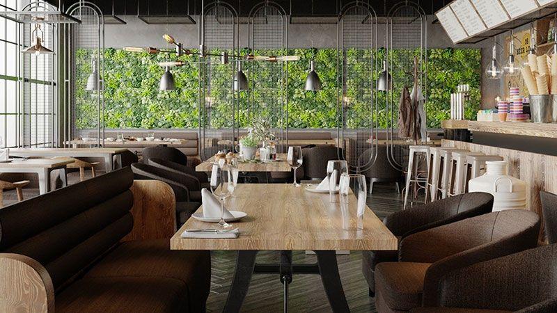 Cafe Dekorasyonunda Renk ve Dekor Seçimi