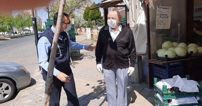 Türkoğlu Belediyesinden berber ve kuaför esnafına destek
