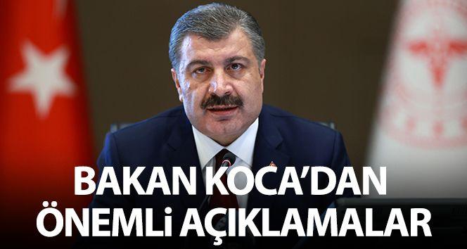 Sağlık Bakanı Koca: 'Türkiye bu sınavdan yüzünün akıyla çıktı'