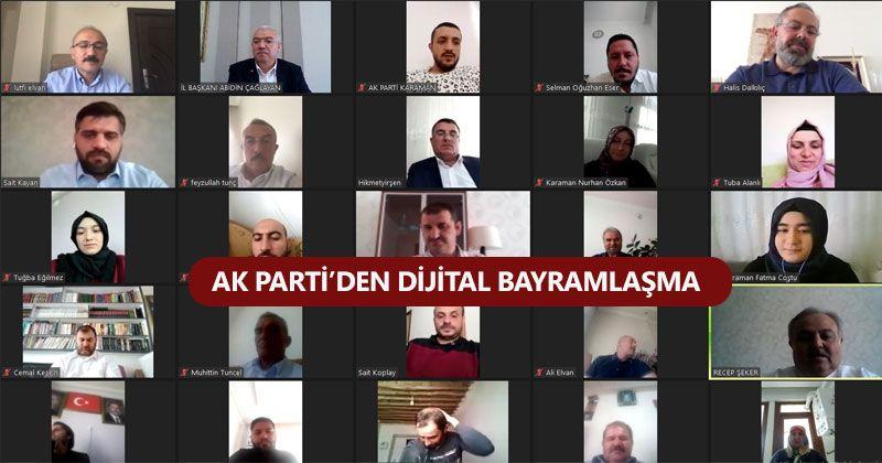 AK Parti Karaman Bayramda Tek Yürek Oldu!