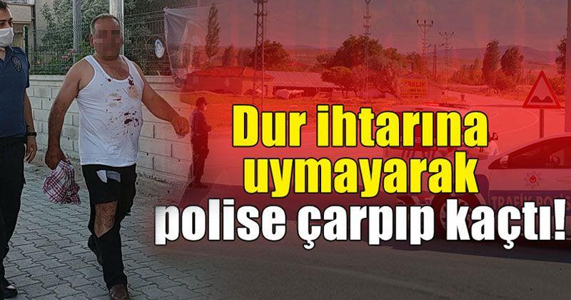 "Polisin ""dur"" ihtarına uymayan kişiye 7 bin 938 lira ceza kesildi"
