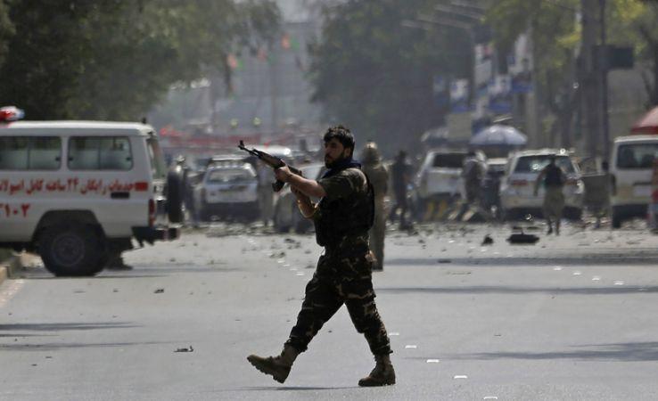 Afganistan'da pazar yerinde bombalı saldırı: Onlarca ölü ve yaralı var