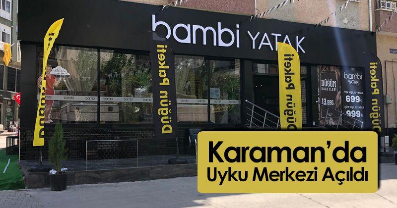 Karaman'da Uyku Merkezi Açıldı