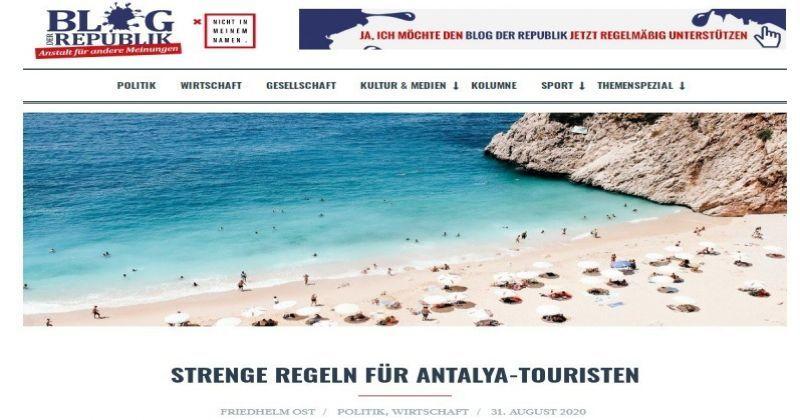 Alman siyasetçi ve gazeteci Friedhelm Ost'tan Türkiye'ye övgü