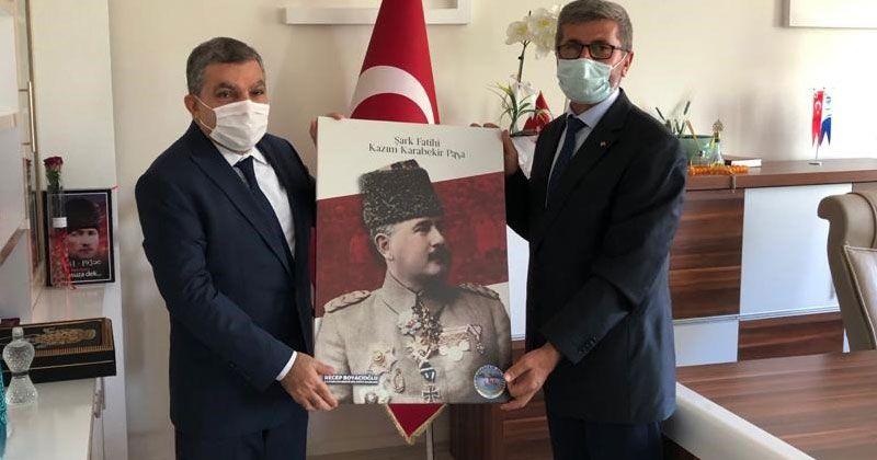 Karaman Valisi Işık, Kâzımkarabekir'de Ziyaretlerde Bulundu