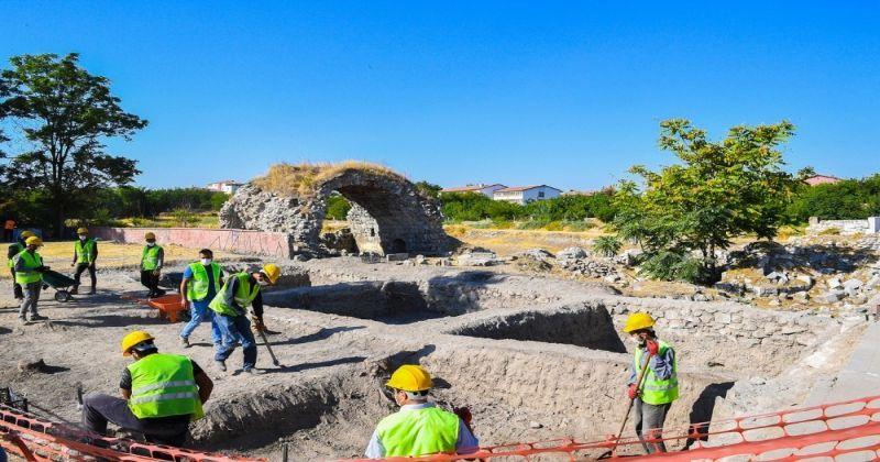 Şahabiyye-i Kübra Medresesinde kazı çalışmalarına başlandı