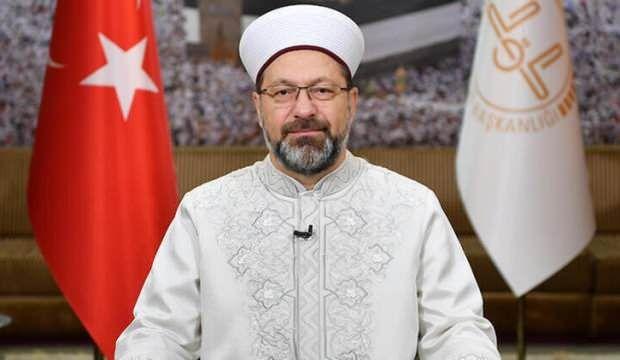Diyanet İşleri Başkanı Erbaş'tan Hz. Muhammed karikatürüne tepki