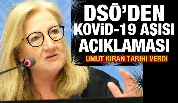 DSÖ'den Kovid-19 aşısı açıklaması! Umut kıran tarihi verdi