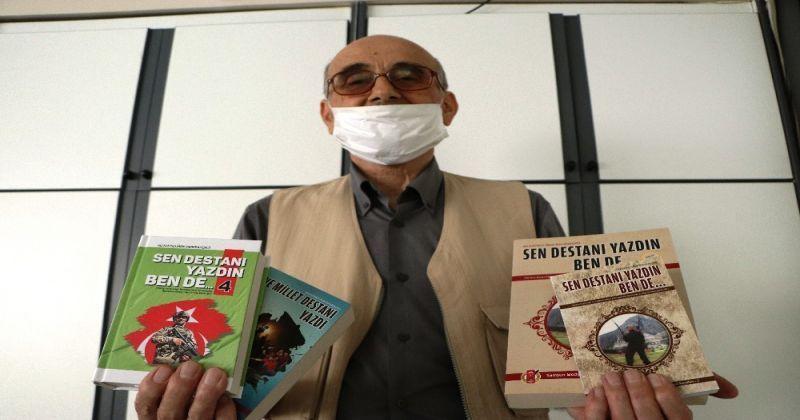 'Mehmetçik-Ahmetçik' yazdı, 'Aşık Derebahçeli' kitaplaştırdı