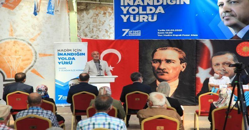 AK Parti Hadim İlçe Başkanlığı 7. Olağan Kongresi yapıldı