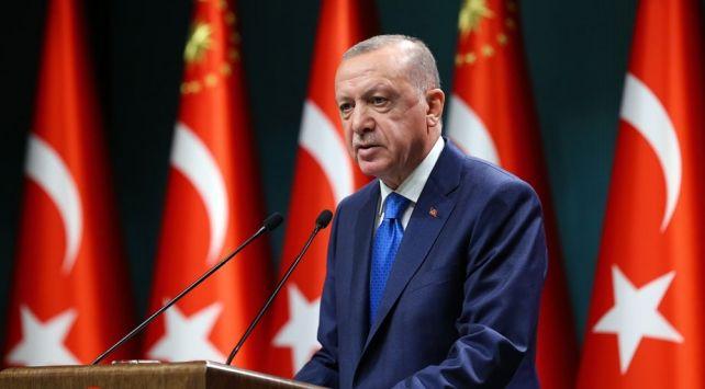 """Cumhurbaşkanı Erdoğan, """"Salgını kontrolümüz altında tutmayı sürdürüyoruz"""""""
