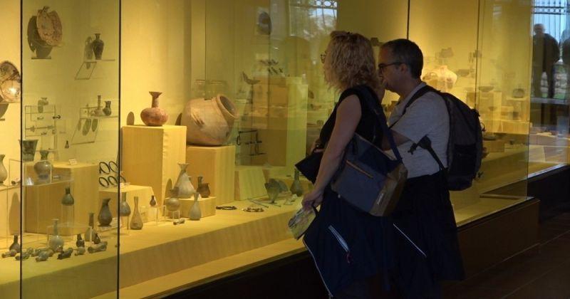 Denizli'de 2 müzede toplam 36 bin 632 eser