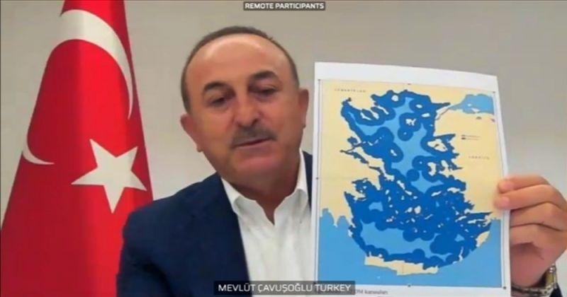 """Dışişleri Bakanı Çavuşoğlu AP'de konuştu: """"AB'nin sınırları Yunanistan'dan değil Türkiye'den başlar"""""""