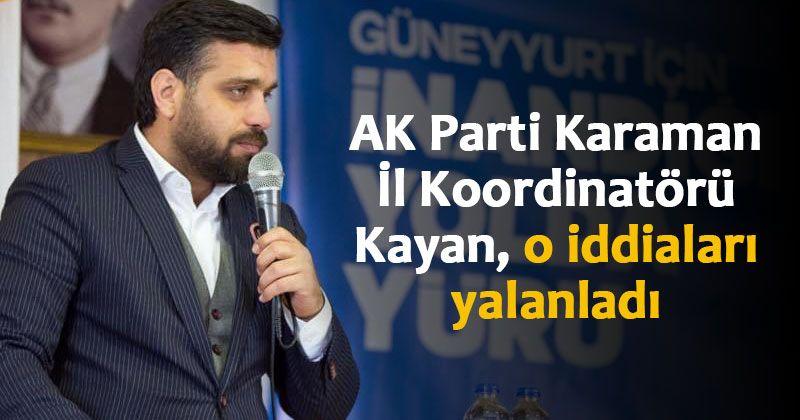 AK Parti'den Feyzullah Tunç iddialarına yalanlama