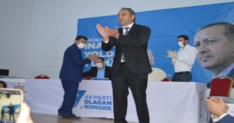 AK Parti Ardahan Merkez İlçe Başkanı Açıkyıldız güven tazeledi