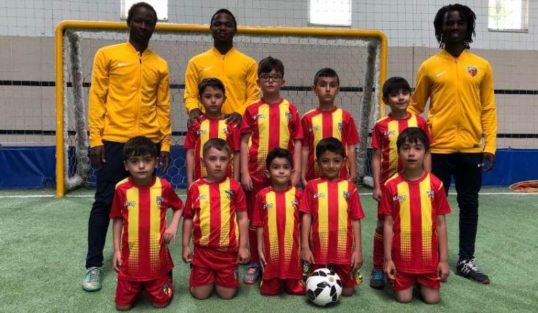 Kayserispor'un spor okulları faaliyete geçti