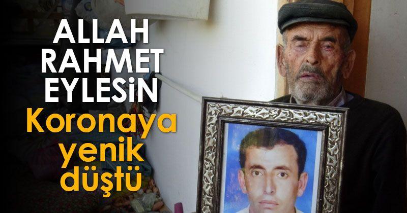 Karaman'daki facianın simge ismi koronavirüsten hayatını kaybetti