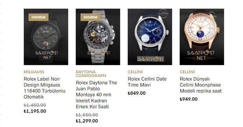 Rolex Eta Watch