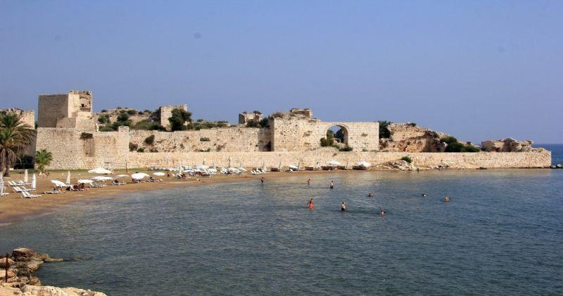 Kızkalesi'nin kara uzantısı Korykos'ta ilk kez kazı yapıldı