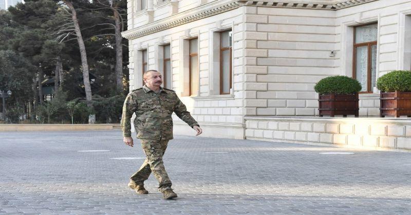 Azerbaycan Cumhurbaşkanı Aliyev: 100'den fazla yerleşim yeri işgalcilerden kurtuldu