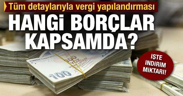 Which debts are under restructuring?