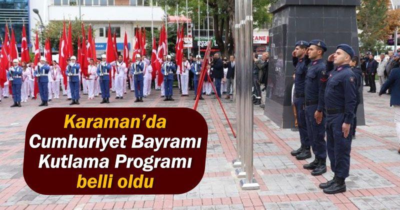 29 October Republic Day Celebration Program in Karaman