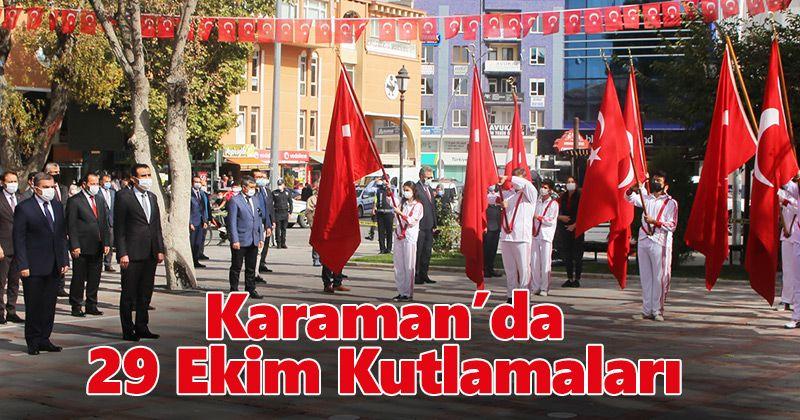 October 29 celebrations in Karaman